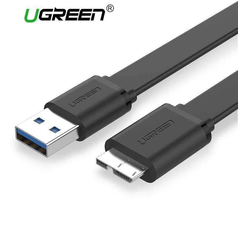 Ugreen 1 Meter USB 3.0 Super Speed Pengisian dan Data Kabel Sinkronisasi untuk Samsung Note 3