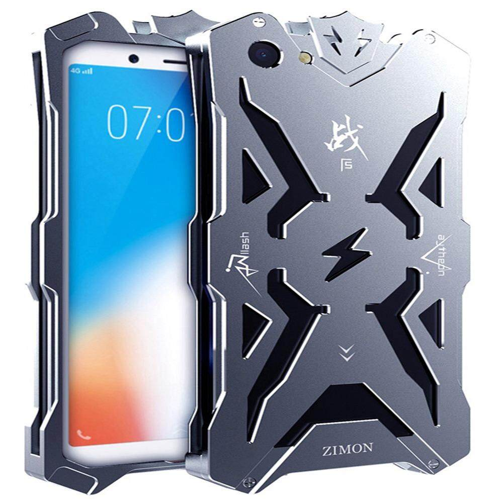 """Vivo Y71 Case, [Thor Series] Hollow Design Full Signal Aviation Aluminum Metal Hard Rugged Strong Protection Case Cover For Vivo Y71 6.00"""""""