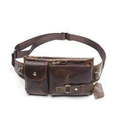 Fanny Pack Belt Bag Phone Pouch Bags Travel Waist Pack Genuine Leather Waist Bag 9080