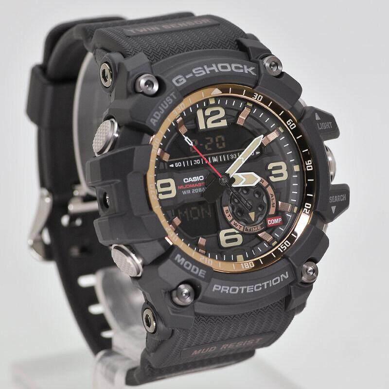 สอนใช้งาน  พะเยา 【 STOCK】Original _ Casio Casio _ G-Shock GG-1000 MUDMASTER Man นาฬิกาดิจิทัลผู้ชายนาฬิกากีฬา GG-1000RG-1A