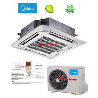 Midea 2.5hp MCD-24CRN1 & MOU-24CN1 Ceiling Cassette Type Air conditioners - R410a