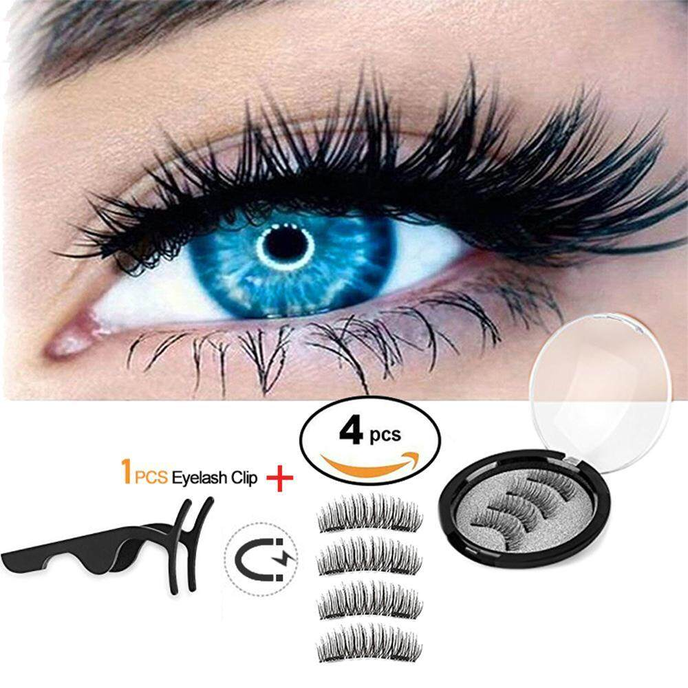 17540bf2305 OrzBuy Dual Magnetic False Eyelashes,3D Fiber Magnetic Lashes Extension-  Best Reusable And Easy