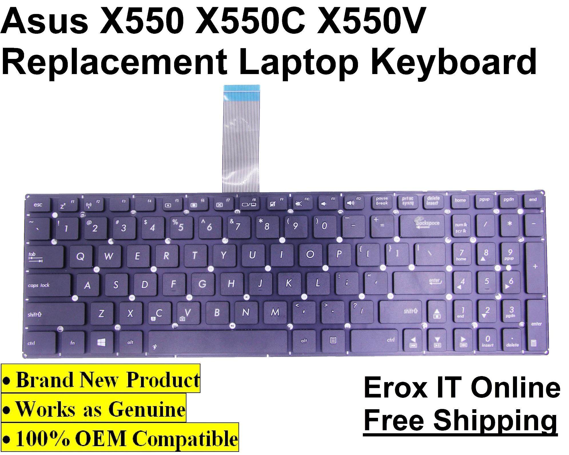 Asus A550V Replacement Keyboard /Asus A550 Replacement Keyboard