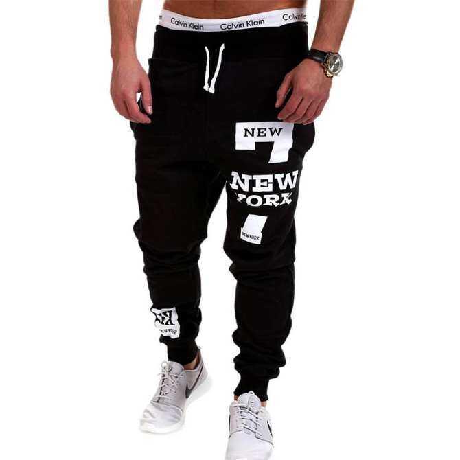 Mens Joggers 2018 Brand Male Trousers Men Pants Casual Pants Sweatpants Jogger Black Large Size 4XL K31