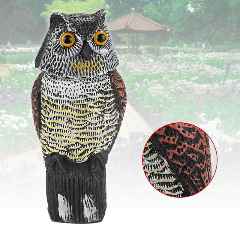 MaLer Store Repellent Bird Realistic Creative Garden Hunting Swing