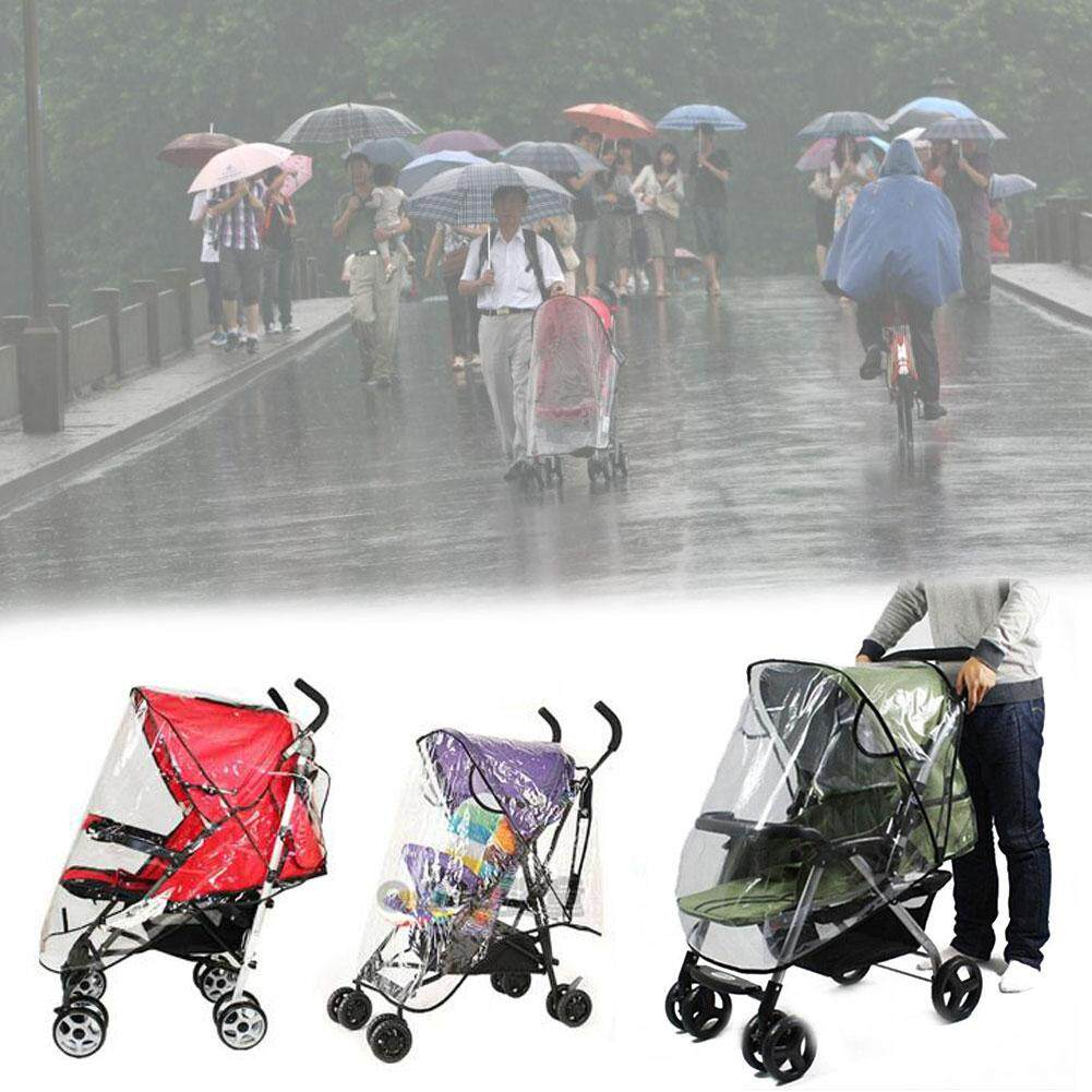 Qearl Shop 2018 Fashion Hot Sale!!!Baby Universal Waterproof Stroller Rain Cover Wind Dust Shield Pushchair Cover