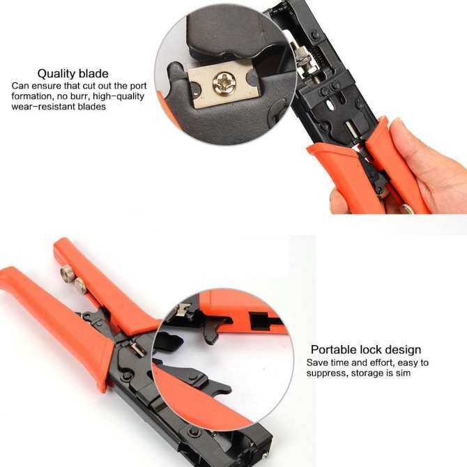 Hình ảnh Womdee Professional 3 In 1 Self Automatic Cable Wire Stripper, Wire Striper Cutter ,Crimper Crimping Pliers Terminal Tool (with F Press Joint, BNC Joint And RCA Joint) - intl