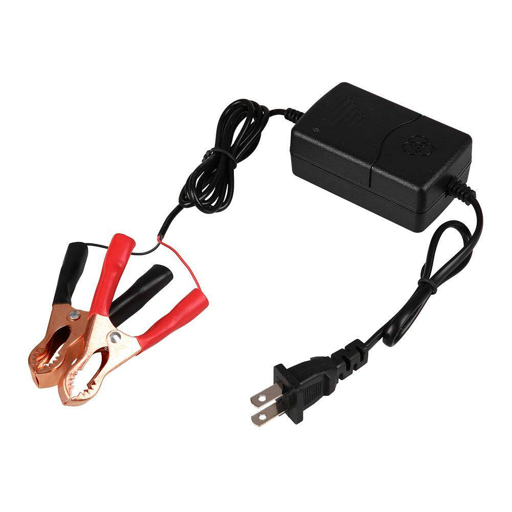12V Motorcycle Car ATV Sealed Lead Acid Rechargeable 3-Mode Battery Charger - intl