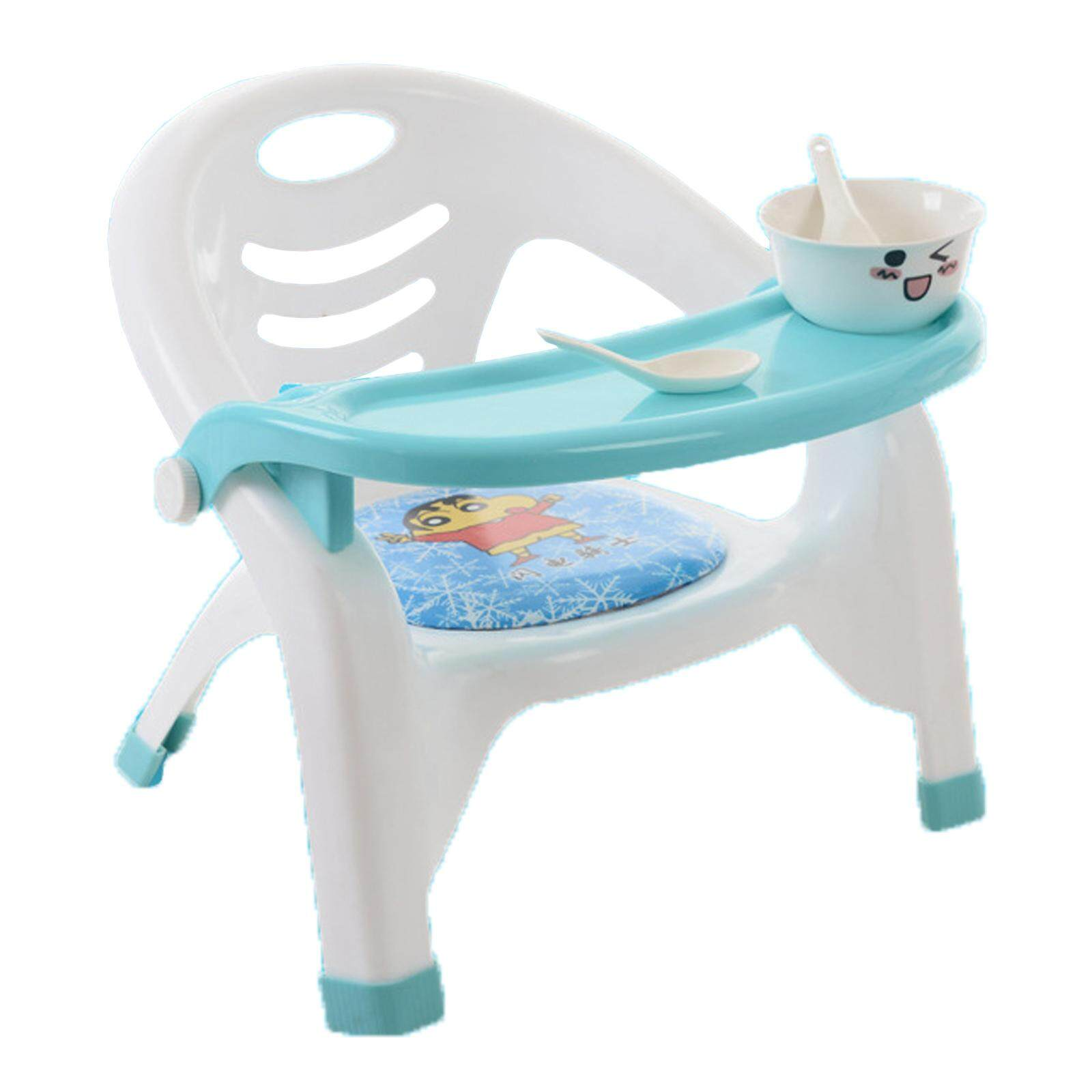 NaVa Detachable Tray Baby Toddler Dinning Seat Chair (Light Blue)