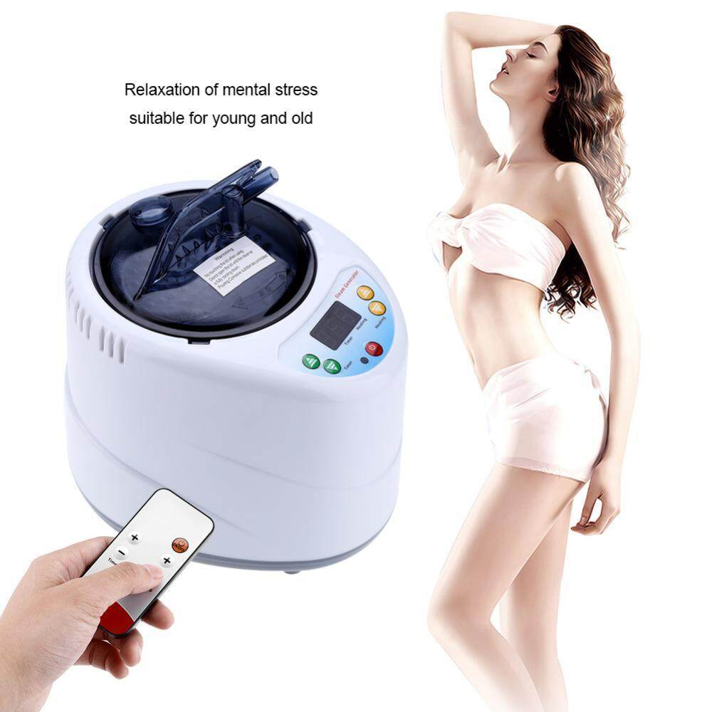 epayst 2L Fumigation Machine Home Steamer Steam Generator for Sauna Spa Tent Body Therapy UK Plug