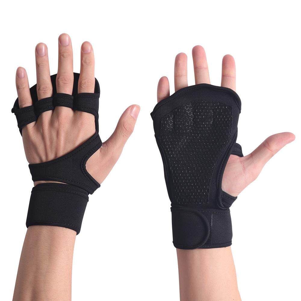 Pens, Pencils & Writing Supplies Gym Gloves Weight Lifting Training Gloves Women Men Fitness Sports Body Building Gymnastics Grips Gym Hand Palm Protector Gloves High Quality And Inexpensive Fitness Gloves