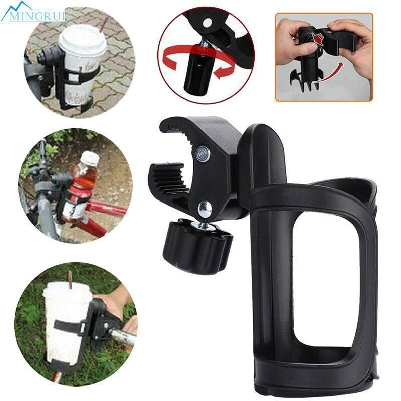 นี่คืออันดับ1 Unbranded/Generic อุปกรณ์เสริมรถเข็นเด็ก Mingrui Store Black Baby Stroller Bottle Rack Infant Stroller Bottle Rack มีโปรโมชั่น ลดราคา