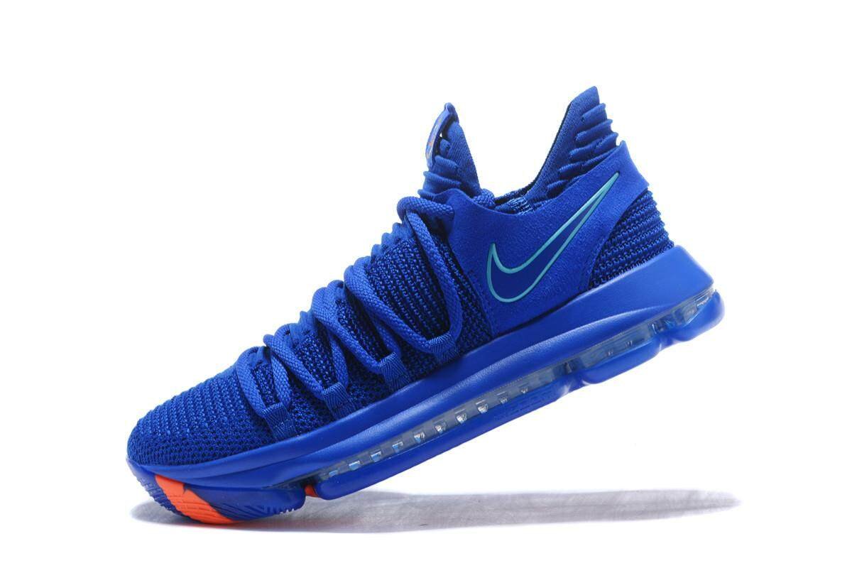 best website 04560 fe04b Discount Nike_ Men's Zoom KD 10 Basketball Shoe Breathable Outdoor Sport  Shoes (Blue)