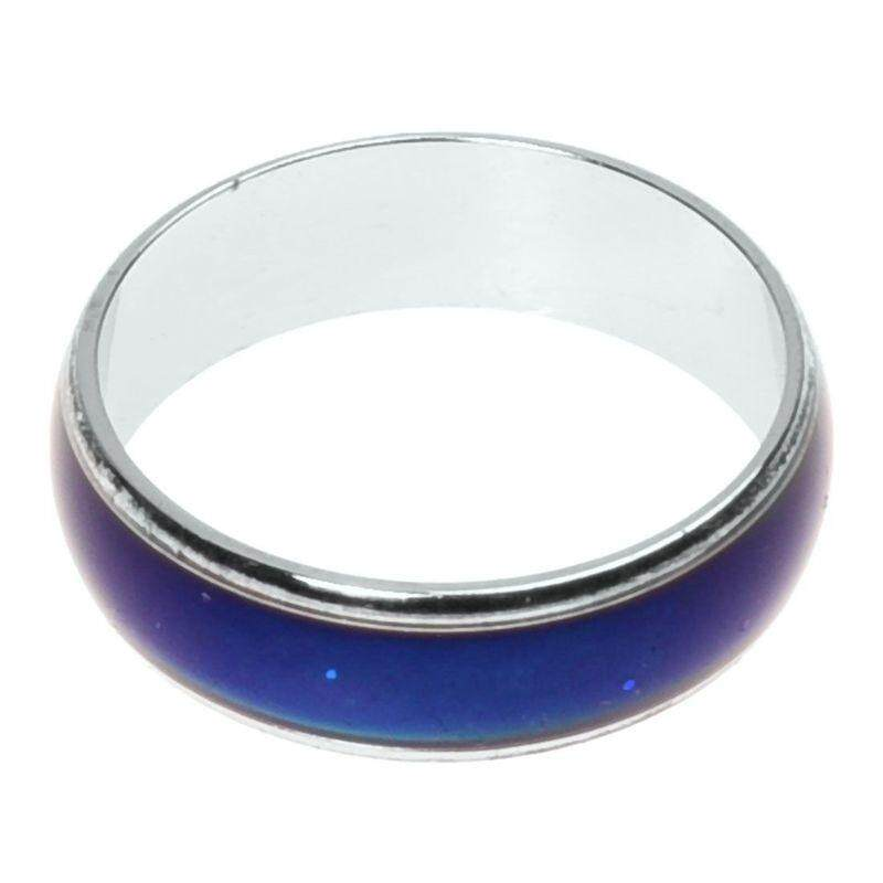17.8mm Emotion Feeling Mood Changeable Color Ring US Size 7 1/2