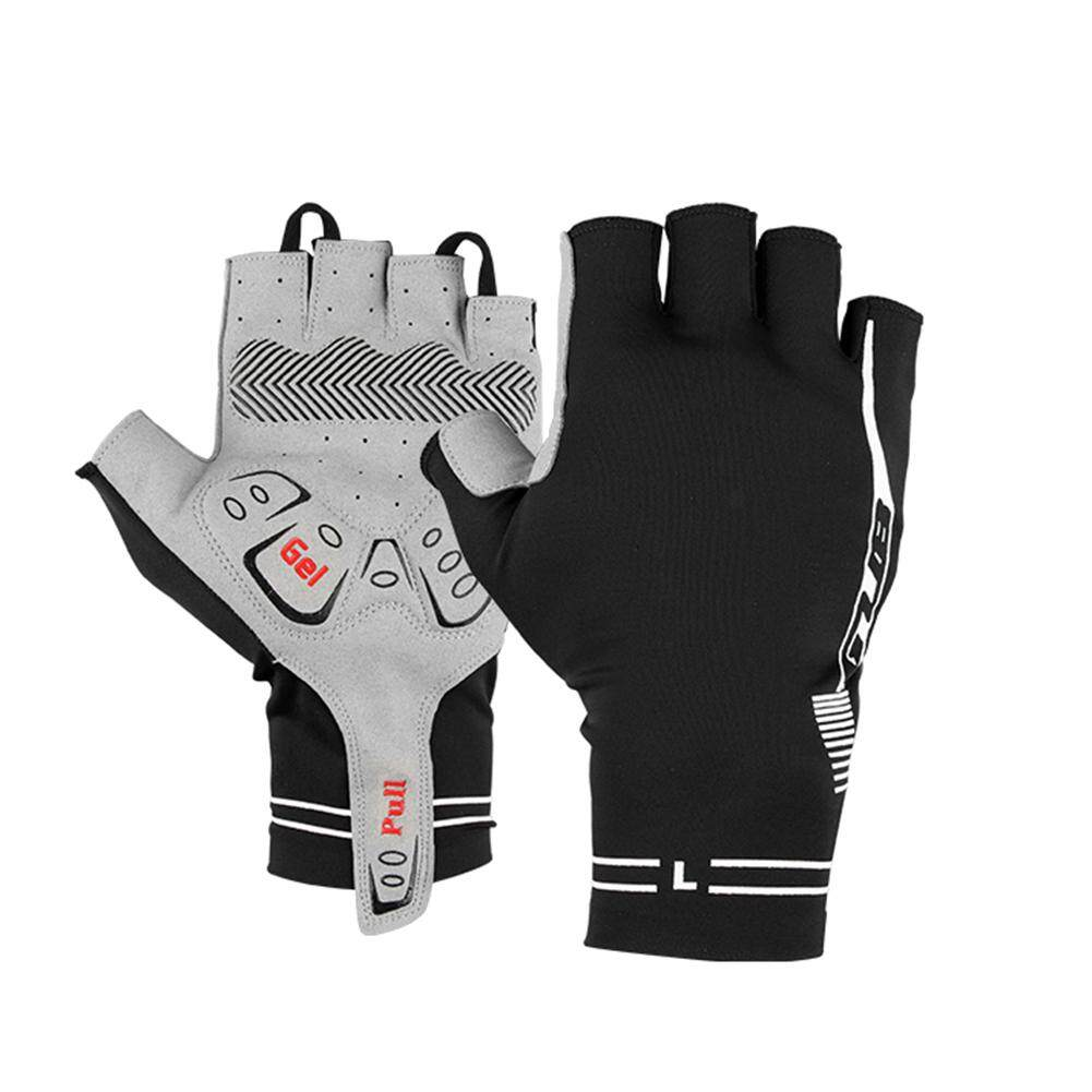 Anti-skid MTB Cycling Bike Bicycle Shockproof Sports Half Finger Riding Gloves