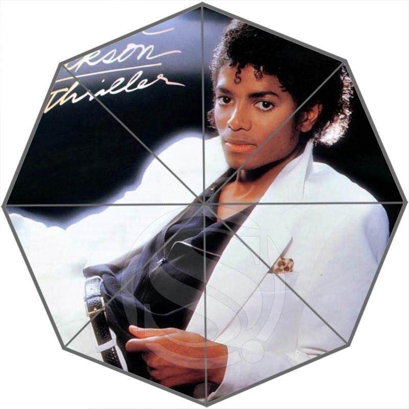 Hot Custom Michael Jackson Best Nice Cool Design Portable Fashion Stylish Useful Foldable Umbrella SQ0702