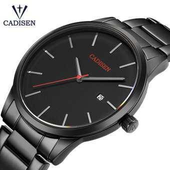 Relogio Masculino CADISEN TOP Luxury ยี่ห้อ Analog นาฬิกาข้อมือกีฬาจอแสดงผลวันที่ผู้ชายนาฬิกาควอตซ์นาฬิกาข้อมือธุรกิจนาฬิกาผู้ชาย-