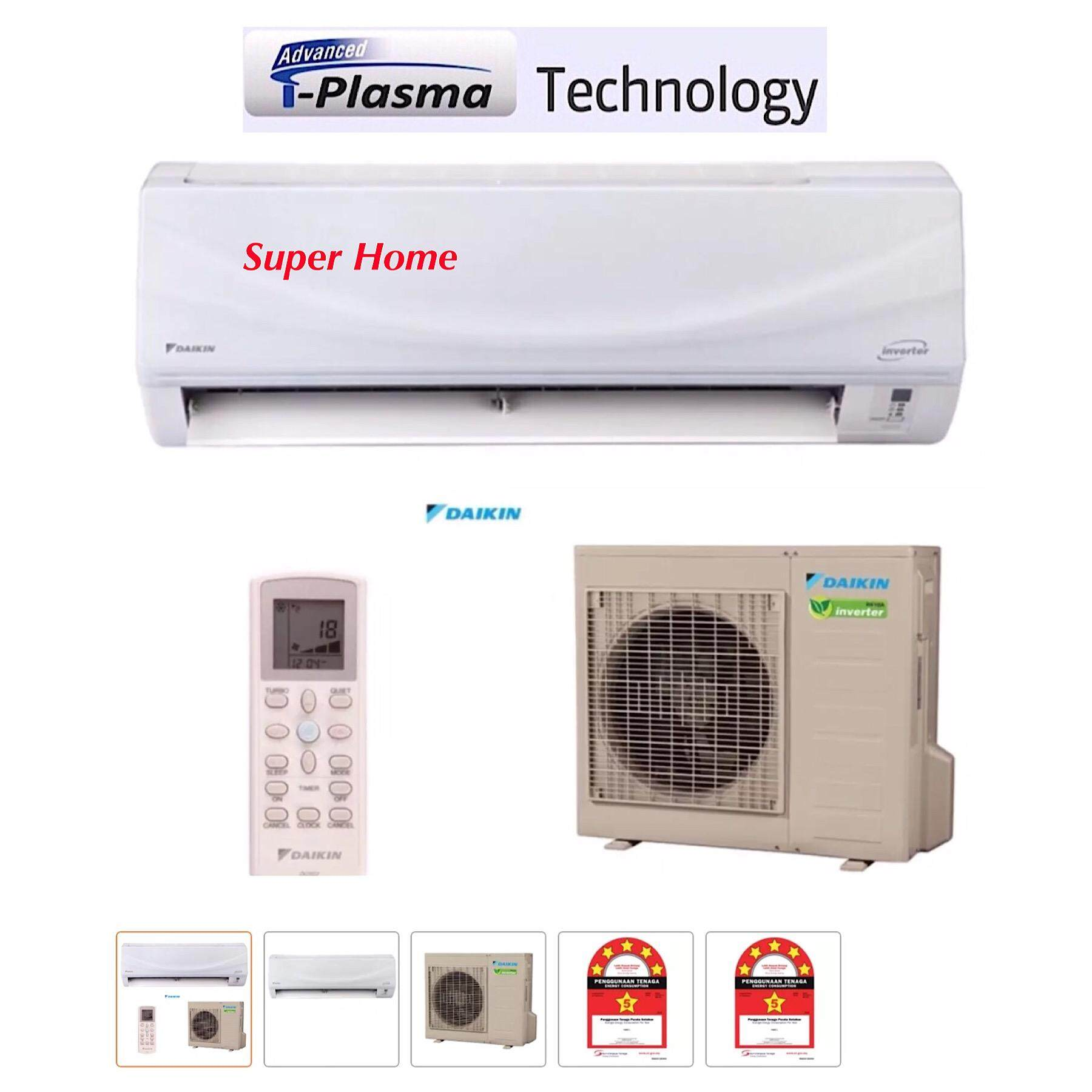 Daikin Cooling King 2hp Inverter with i Plasma Wall Mounted Air Conditioner FTK20M / RK20F R410A (DC Inverter)