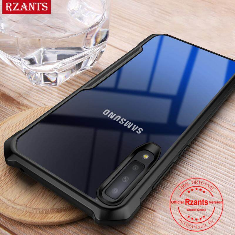 huge selection of 64615 e2a3f Rzants For Samsung Galaxy A7 2018 A750 Hard Case【Four corner】Transparent  Silica Gel Matte ShockProof Slim Thin Cover Phone Casing