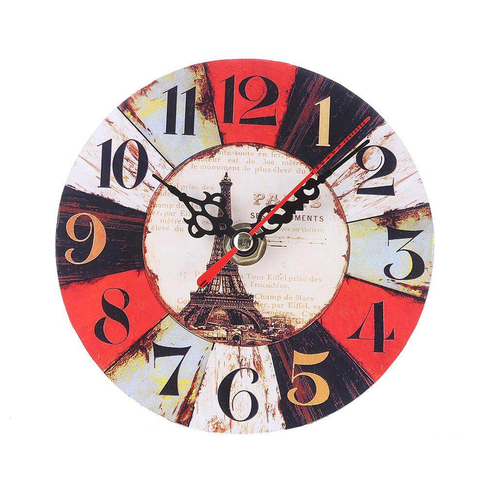 Pleasing Living Vintage Style Antique Wood Wall Clock For Home Kitchen Office Download Free Architecture Designs Rallybritishbridgeorg