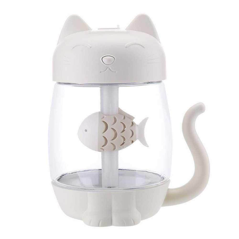 Lethen 3 In 1 USB Cat Air Humidifier Mini Humidifier for Home,Office