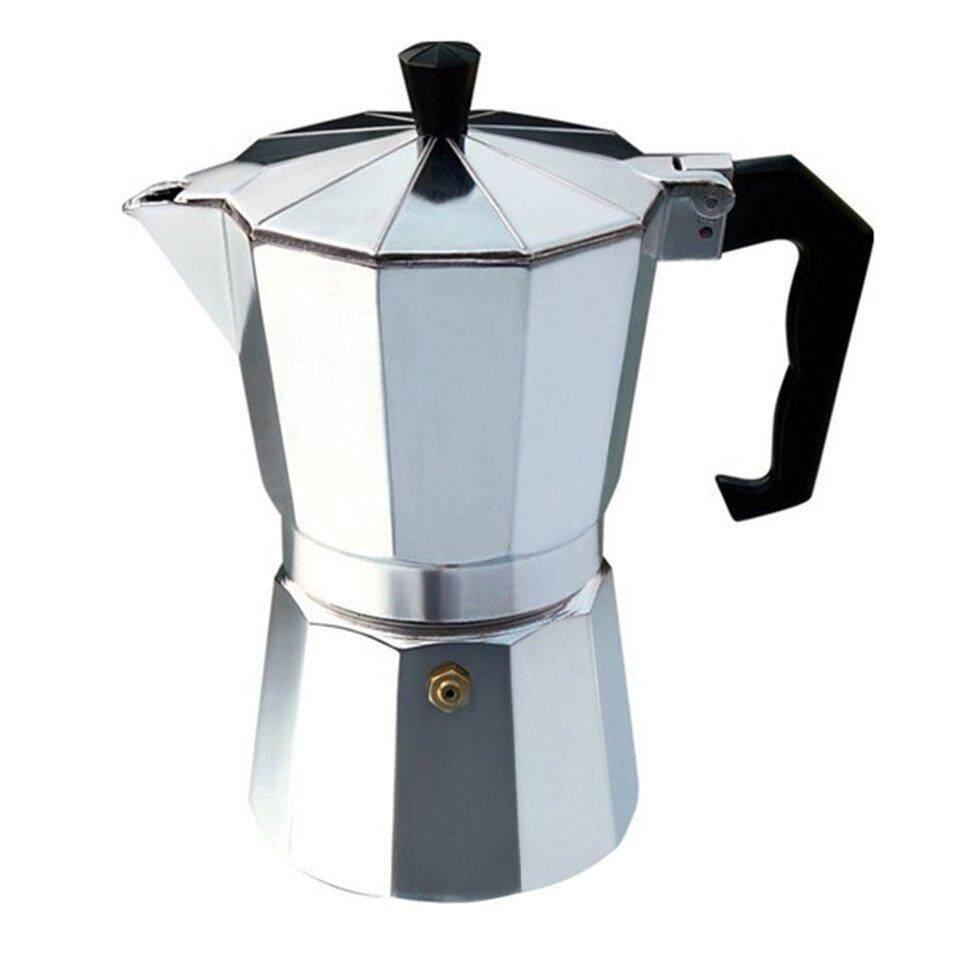 B-Life Aluminium Moka Pot Octangle Coffee Maker For Mocha Coffee Italian Coffee