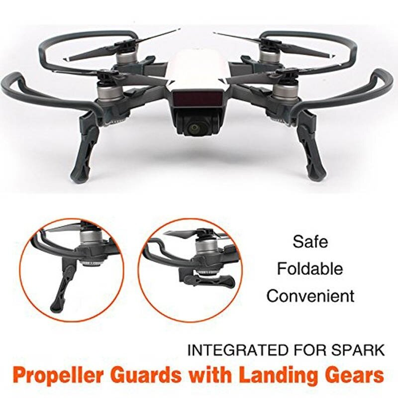 Propeller Guards Protectors Shielding Rings with Landing Gears Stabilizers for DJI SPARK