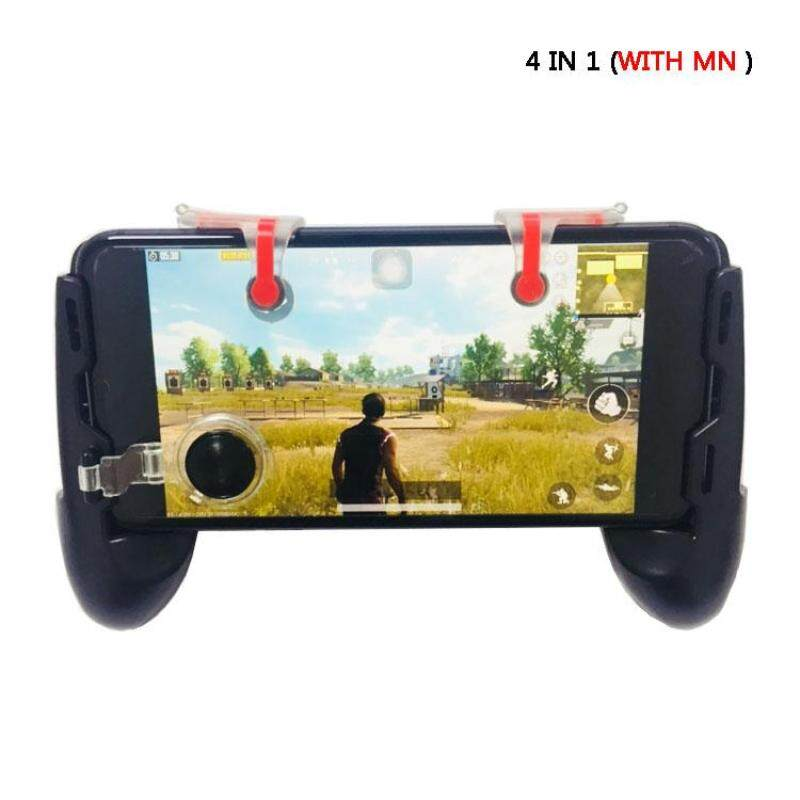 PUBG fire key 4 in1 gamepad with MN triggler fit for smartphone joystick phone controller aiming