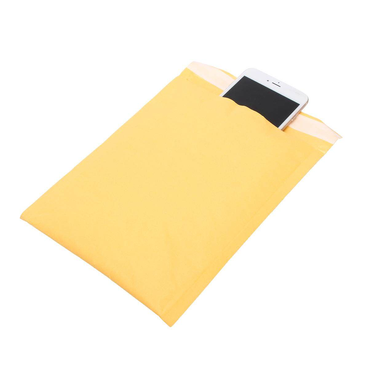photo Wholesale Kraft Bubble Mailers Padded Shipping Bags Seal Self Envelopes 150x180mm