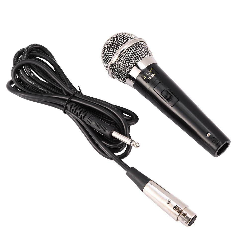 Professional Handheld Wired Dynamic Microphone Clear Voice for Karaoke Vocal Music Performance Specification:YS-226