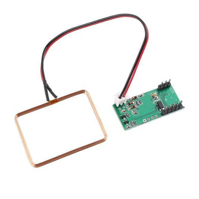 Hình ảnh Components UK RDM6300 125KHz (ID) EM4100 RFID Card reader module RF UART Output for Arduino