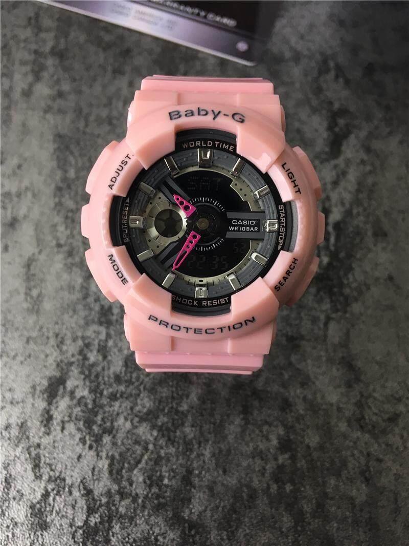 Casio Baby G Popular Wide Face Bga 150 Series Black Resin Band Watch 230 7b2 Original Caslo Womens Strap