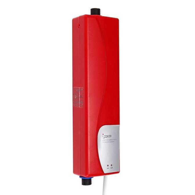 3000W Mini Tankless Electric Shower Instant Hot Water Heater UK ...