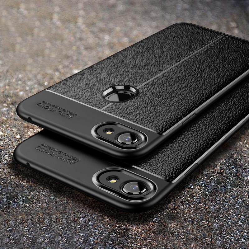 For OPPO F7 Shockproof Rubber TPU Leather Slim Back Cover Camera Protect Phone Case - intl