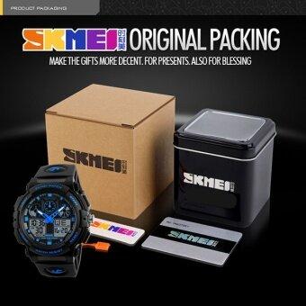 Brand Watch Men LED Dual Display Fashion Military 50M Waterproof Wristwatches 1270