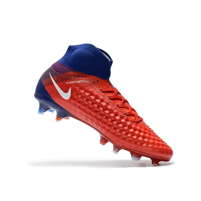 b6b9cf96649956 2019 New High Ankle Football Boots Superfly Original ACC 3D Weave FG Men s  Soccer Shoes Magista