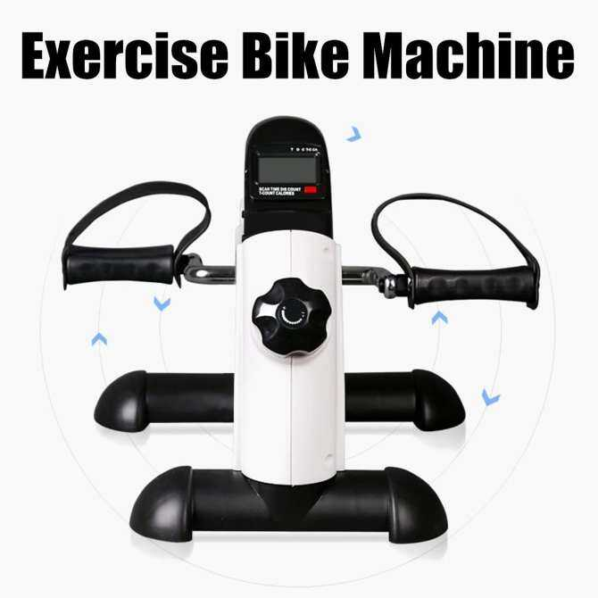 ... Physical Therapy Mini Exercise Bike Cycle Pedal Knee Foot Petal Peddle Peddler ...