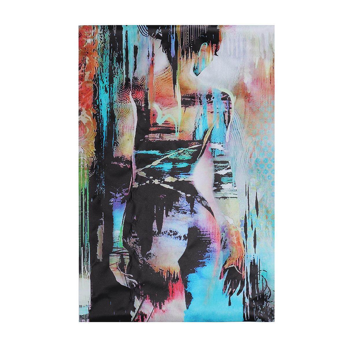 Handmade Modern Abstract Oi l Painting on canvas :Women Nude Body no Framed