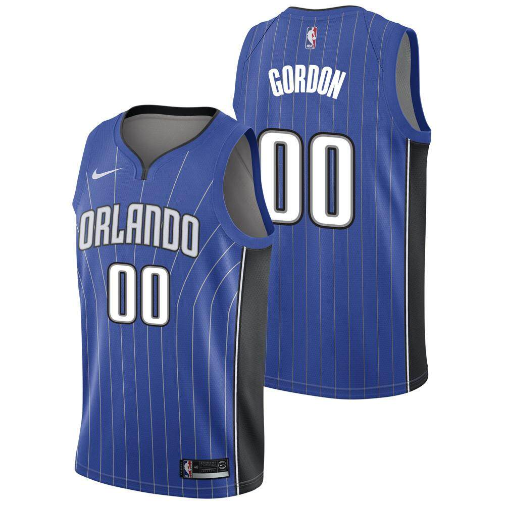 new product 2040c a3a92 MBA Aaron Gordon Basketball Clothes Orlando Magic Swingman Jersey Num 0  Lightweight Dry Fast Soft Size small White Association Edition