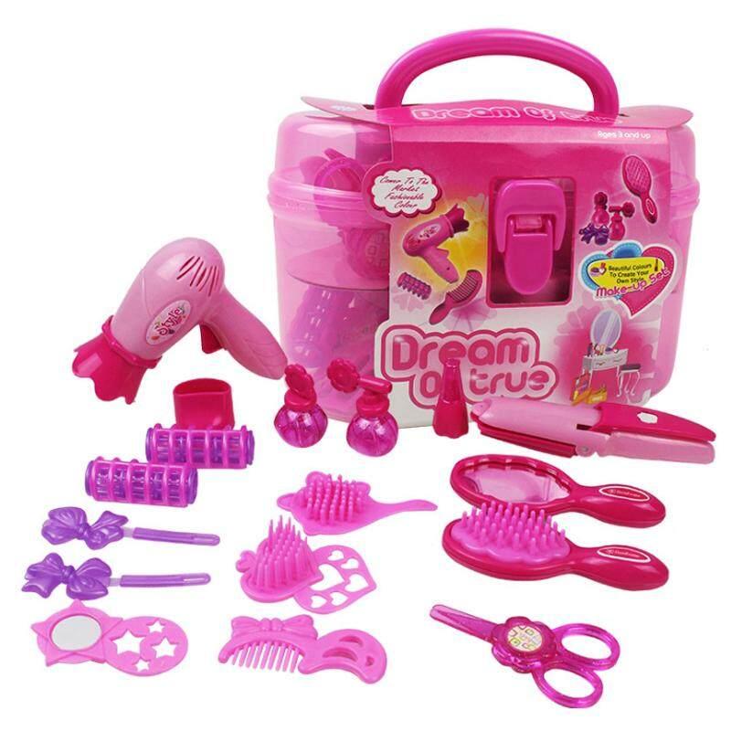 New Kids Simulation Toy Simulation Cosmetic Box for Girls Child Dresserstaring Cosmetic Box Toy Princess Girl Jewelry Box