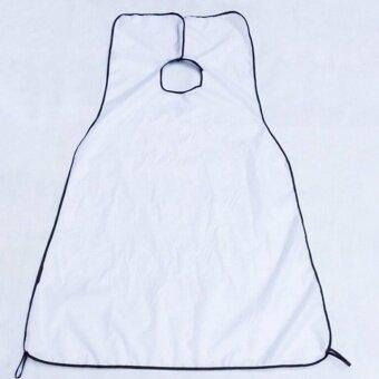 Wai Cloth for Men's Facial Beard Shaving the Barber Scarf Bib apron White 120cm×80cm