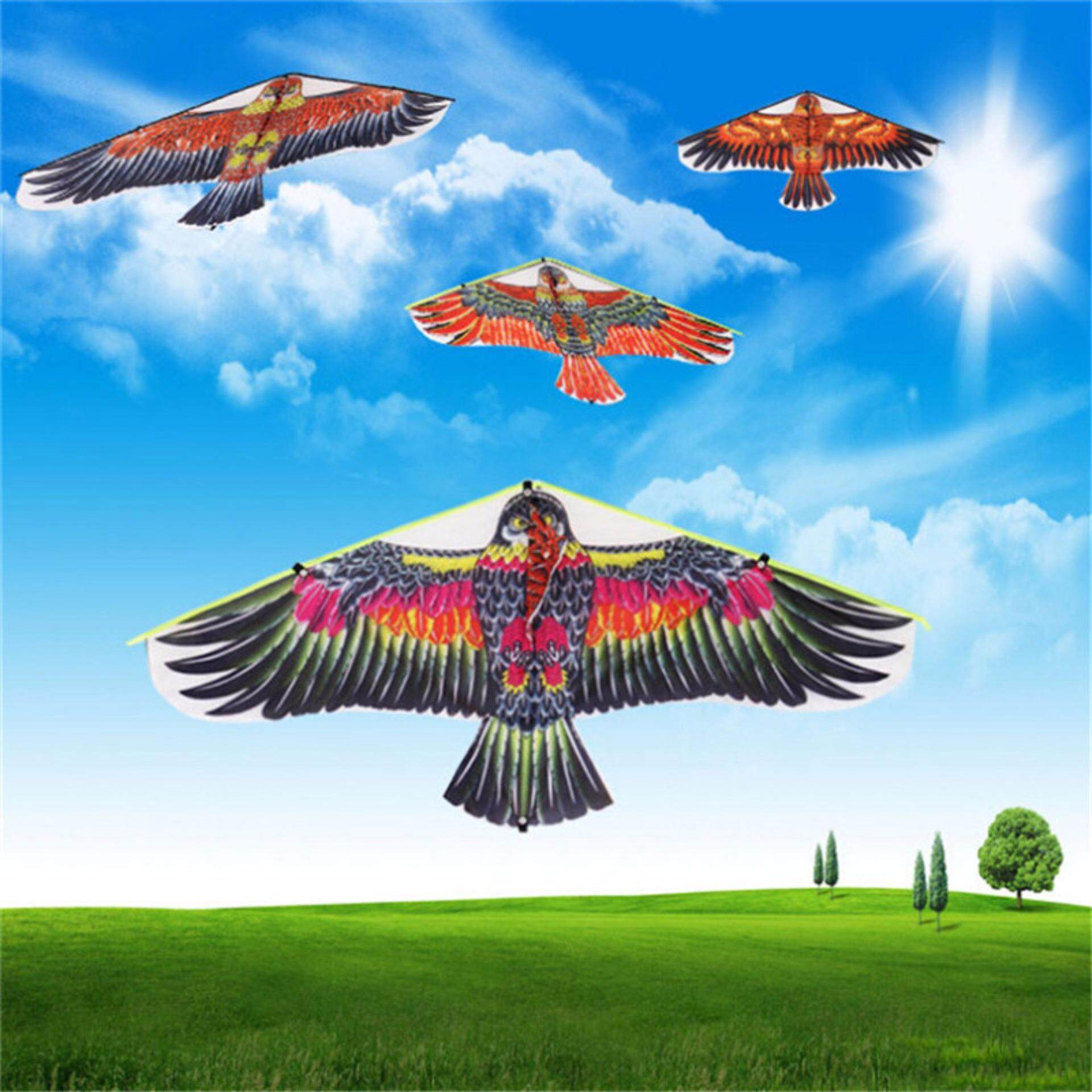 Mecola Flat Eagle Bird Kite Children Flying Bird Kites Outdoor Garden Toys image