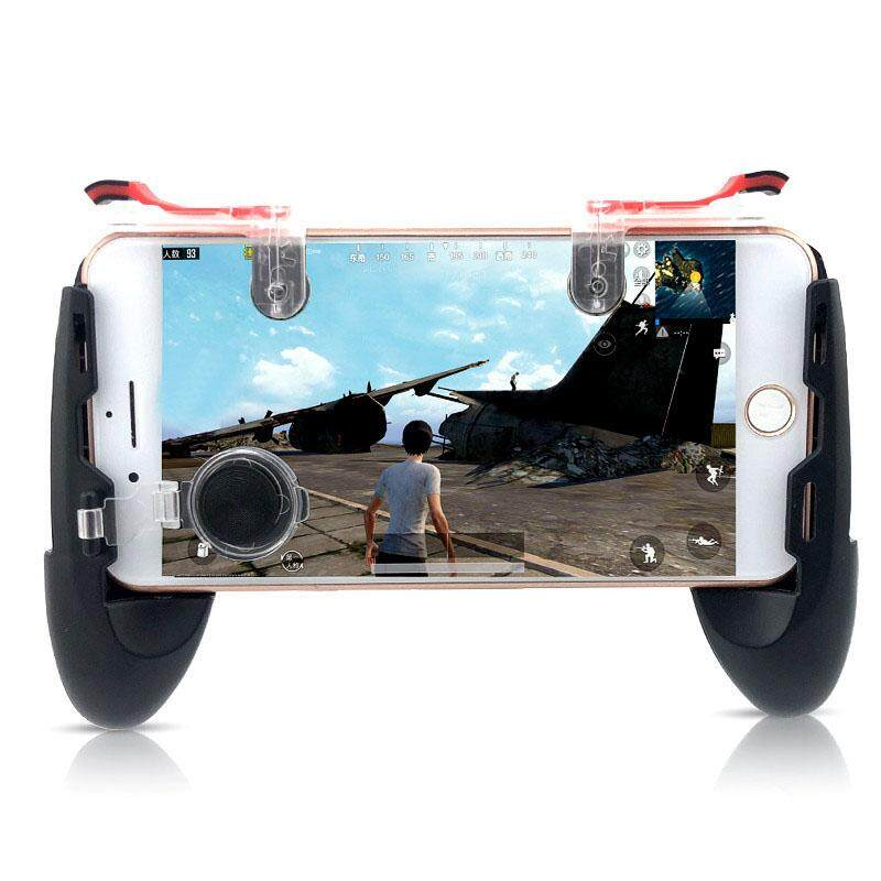 Xinsu Game Gamepad for Mobile Phone Game Controller + Auxiliary Quick Button for IPhone
