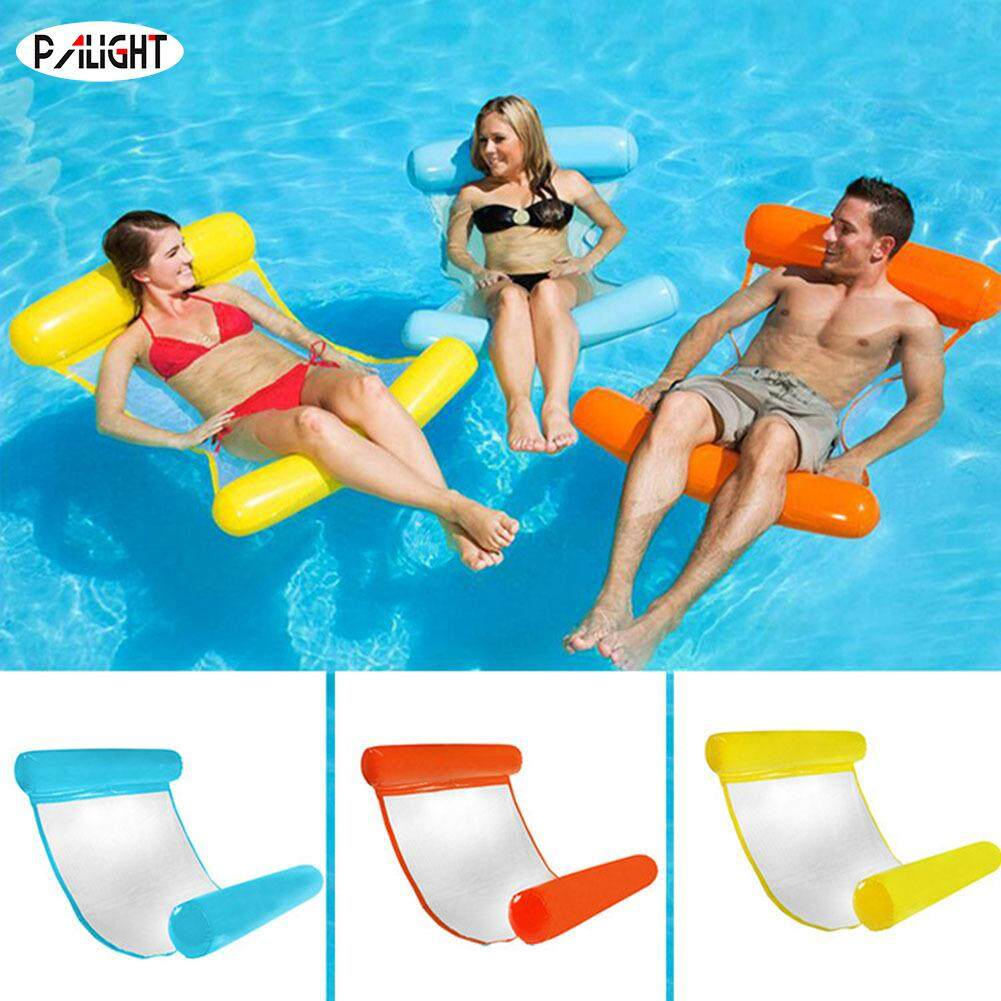 PAlight Inflatable Water Hammock Floating Bed Lounge Chair Drifter Swimming Pool Beach Float for Adult