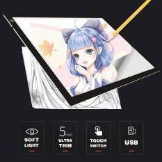 ĐÈN LED USB Truy Tìm Hộp Đựng Đèn Ban Xăm Hình Nghệ Thuật A4 Vẽ Miếng Lót Bàn Stencil Màn Hình Hiển Thị