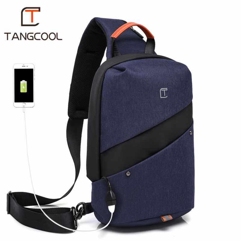 AirSky Men Luxury Stylish Crossbody Bag large capacity Sling Bag Shoulder Chest Bag
