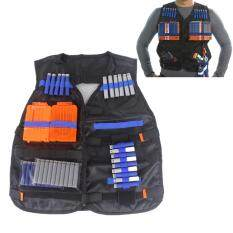 Tactical Vest Kids Toy Clip Jacket Foam Bullet Ammunition Holder For Nerf