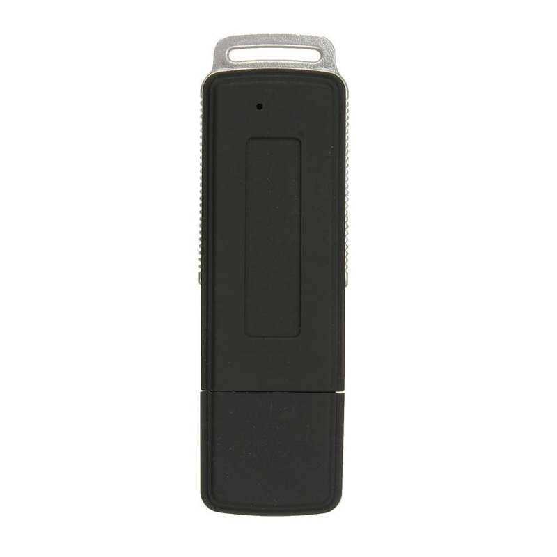 PLATIM USB 2.0 Digital Audio Voice Recorder 1-32GB Card Reader Disk Pen Flash Drive (Black)