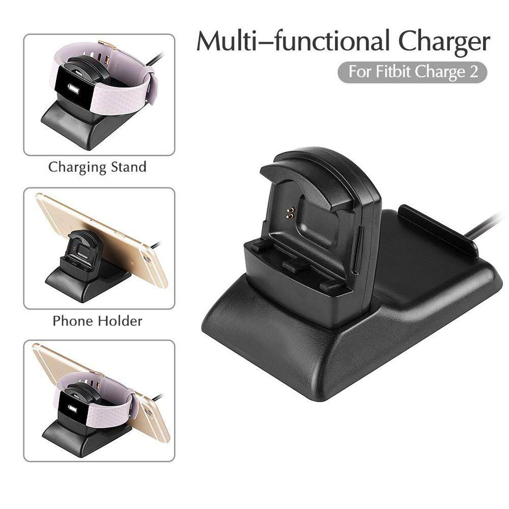 USB Power Charger Cable Battery Charging Dock Station Holder For Fitbit charge 2
