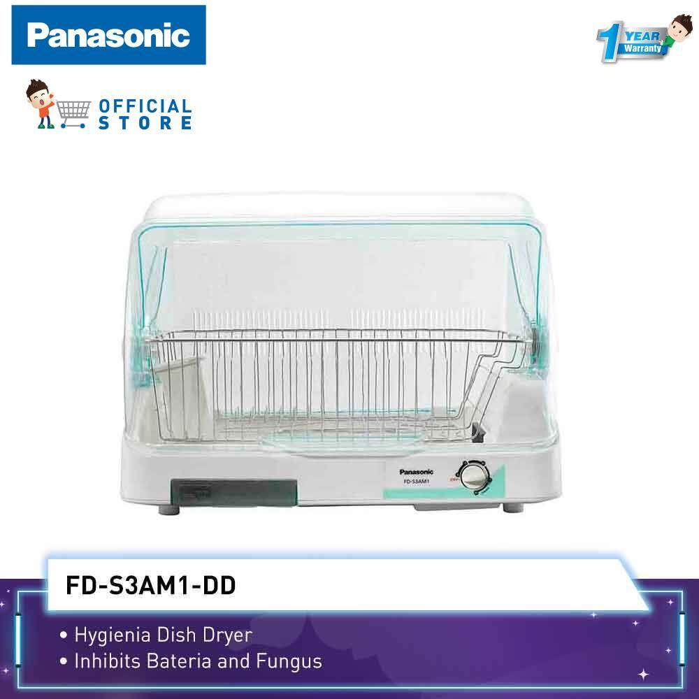 Panasonic Dish Dryer FD-S3AM1 (247W, 4 KG) Anti Bacterial